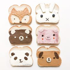 make eating fun.cute and yummie sandwiches. make eating fun.cute and yummie sandwiches. Cute Snacks, Cute Desserts, Cute Food, Tasty Snacks, Delicious Food, Toddler Meals, Kids Meals, School Lunch Sandwiches, Fun Sandwiches For Kids