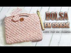Aprenda como fazer bolsa de crochê em diferentes estilos e materiais: fio de malha, barbante e fio de algodão. Confira as fotos e passo a passos!