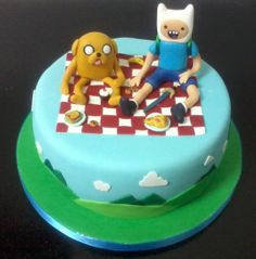 - Finn and Jake Cake