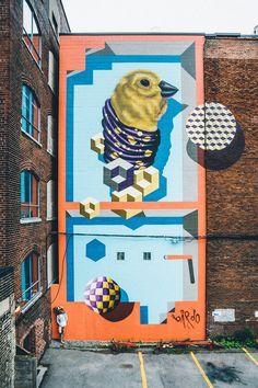 Birdo street art