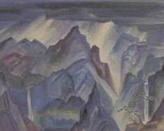 Maude Kerns, Guilin, China, 1928, Watercolor on paper, Gift of Dorothy S. Berg