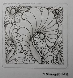 One Tangle : Day One Hundred and Eighteen