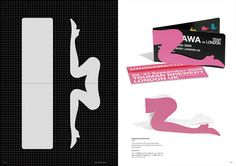 POP-UP card + template: Exhibition Invitation Card (2009)