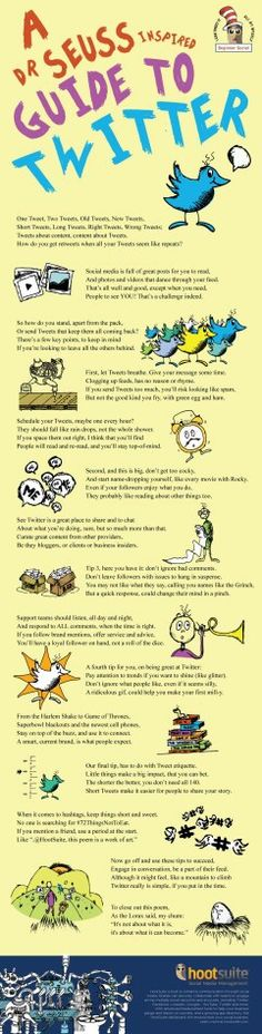 ❄ Dr. Seuss Guide to #twitter ;) LƠvЄ it!