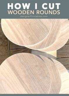 Wood Plank Art, Wood Art, Diy Wood Signs, Rustic Wood Signs, Wood Slice Crafts, Wood Crafts, Circle Crafts, Wood Circles, Got Wood