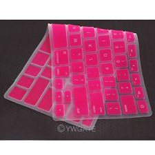 """ROSE RED Keyboard Silicone Cover Skin For Apple MacBook MAC Air 13"""" 13.3 inch"""