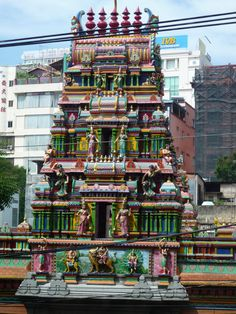 Hindu Tempel in Ho Chi Minh City Ho Chi Minh City, Travelogue, Travel Pictures, Vietnam, Times Square, Country, Places, Temple, Travel Photos
