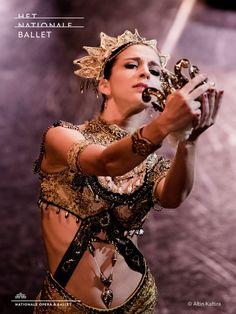 Dutch National Ballet Soloist Sasha Mukhamedov as Gamzatti from 'La Bayadère'