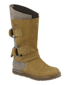 Take a look at this Truffle Chipahko Felt Boot by #SOREL on #zulily!