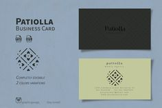 Patiolla Business card