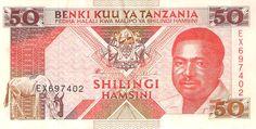 Front: Tanzania - 50 shilling