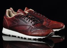 Reebok Classic Leather Lux CF - Light Snuff/Black | Freshness Mag