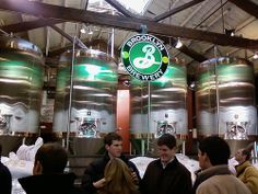 Brooklyn Brewery - having a Beer in Brooklyn takes on a whole new meaning..:)