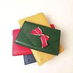 Louis Vuitton vintage clutches. CBL Bags.
