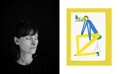 Das bunte Leben deines zweiten Ichs -  Die Illustratorin und Grafikerin Susann Stefanizen im Interview