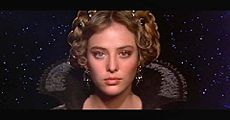 Irulan is a member of House Corrino in the Dune universe.  As established in Dune, Irulan is the eldest daughter of the 81st Padishah Emperor Shaddam Corrino IV and Anirul, a Bene Gesserit of Hidden Rank.  Irulan has four younger sisters named Chalice, Wensicia, Josifa and Rugi, and no brothers.Portrayed by: Virginia Madsen (1984 film)