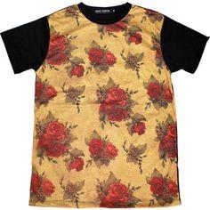 Bad Taste - Roses || #tees #t-shirts #tshirts #streetwear #menswear #urban #urbanwear #prints #summer #graphic  #floral #flowers