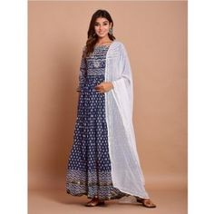Buy Gowns - Discover the wide range of designer gowns online Cotton Anarkali, Anarkali Dress, Anarkali Suits, Party Wear Gowns Online, Gown Suit, Abaya Fashion, Western Dresses, Designer Gowns, How To Dye Fabric