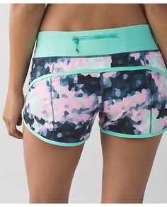 RUN Speed Short from Lululemon - Awesome patterns and colors!