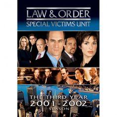 Law and Order - SVU Season 3 DVD