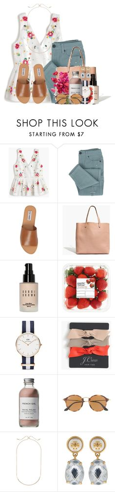 """~your mistakes do not define you~"" by flroasburn ❤ liked on Polyvore featuring J.Crew, Steve Madden, Madewell, Bobbi Brown Cosmetics, Daniel Wellington, French Girl, Ray-Ban, Kendra Scott, Tory Burch and country"