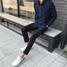 Style Fashion Men Summer Jeans Ideas For 2019 Korean Fashion Men, Best Mens Fashion, Fashion Wear, Look Fashion, Trendy Fashion, Jeans Fashion, Trendy Style, Korean Outfits, Trendy Outfits