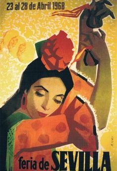 Feria de Sevilla 1968 ~Repinned Via FlamencoBiennial