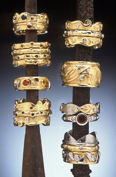 Hughes-Bosca Jewelry   Rings