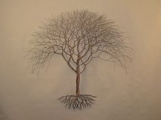 "Visit our site for additional information on ""metal tree wall art decor"". It is actually a superb location to find out more. Tree Wall Decor, Wall Art Decor, Wire Tree Sculpture, Sculptures, Elm Tree, Painting Shower, Wire Trees, Tree Company, Metal Tree Wall Art"