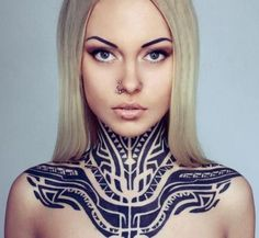 Tribal tattoo has been considered as one of typical tattoo ideas for men. The classic tribal tattoos always represent the status and rank of people. Tribal Tattoo Designs, Maori Tribal Tattoo, Tribal Neck Tattoos, Samoan Tattoo, Feather Tattoos, Foot Tattoos, Black Tattoos, Cross Tattoos, Finger Tattoos