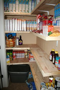 cupboard under stairs