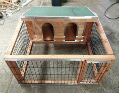 Cuccia per cani con recinto