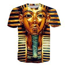 Egyptian Hieroglyphics All Seeing Eye Egypt King Toddler Baby Girls Short Sleeve Ruffle T-Shirt