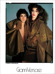 Kelly LeBrock for Gianni Versace | Vogue Italia July/ August 1981