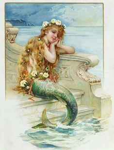 the little mermaid hans christian andersen - Google Search