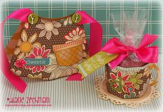 Apron and K-cup holder gift set by Diane Zechman