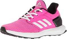 adidas Kids Girls RapidaRun Little KidBig Kid Shock PinkFootwear WhiteBold Pink Athletic Shoe ** Read more reviews of the product by visiting the affiliate link Amazon.com on the image.