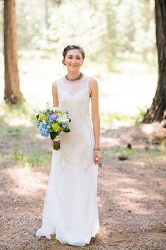 Thurley gown for a very relaxed look. Photography: Mirelle Carmichael Photography - mirellecarmichael.com