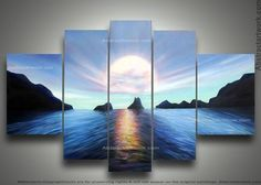 Landscape Painting 119 - 58 x 36in