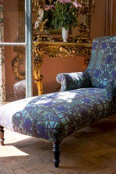 Chaise longue gestoffeerd door Chairs Den Haag