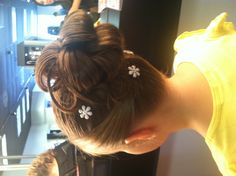 Flower girl updo!!