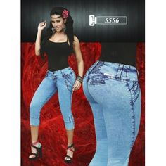 Highlight your beauty! Lift your bottom, slim your thighs, flatten your tummy, and enhance your curves. Colombian Jeans are the best option for you!!