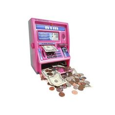 Ben Franklin Toys Kids Talking ATM Machine Savings Bank With Digital for sale online Money Safe Box, Vault Doors, Atm Card, Savings Bank, Math For Kids, Kids Playing, Cool Things To Buy, This Or That Questions, Cool Stuff