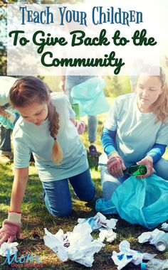 Teach Your Children To Give Back to the Community. When you give back to your community—whether you do it by volunteering at the local shelter and more. Community Nursing, Community Hospital, Volunteer Gifts, Volunteer Appreciation, Giving Back Quotes, Types Of Communities, Community Service Projects, Sunday School, School Staff