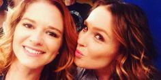 Sarah and Camilla