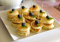 """""""London Calling"""" 2nd birthday party and brunch - pancakes on a stick!"""