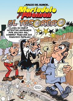MORTADELO Y FILEMÓN: EL TESORERO. Magos del humor nº 167