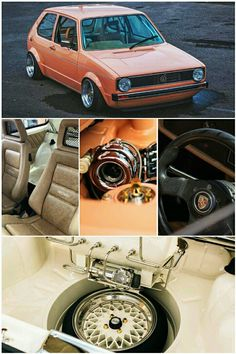 Volkswagen Golf Mk1 Rabbit GTi Turbo with Recaro seats