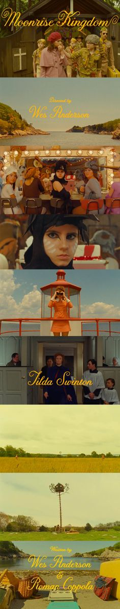 Wes Anderson's newie Moonrise Kingdom looks immaculate as ever. Can't believe we have to wait a whole month to see it!!!