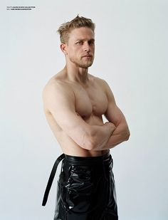 "Charlie Hunnam Poses Shirtless in Edgy V Man Photo Shoot, Talks ""Heartbreaking"" Fifty Shades of Grey Experience  Charlie Hunnam, V Man"